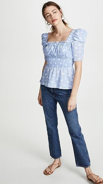 钢蓝 Rumi 女式衬衫