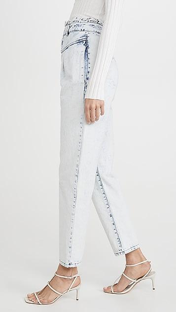 钢蓝 Marilyn 长裤