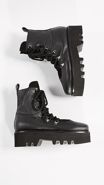 Steiger Platform Combat Boots
