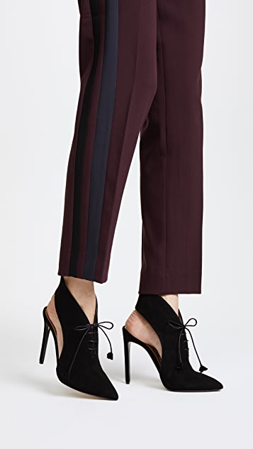 Steiger Cutout Tassel Pumps
