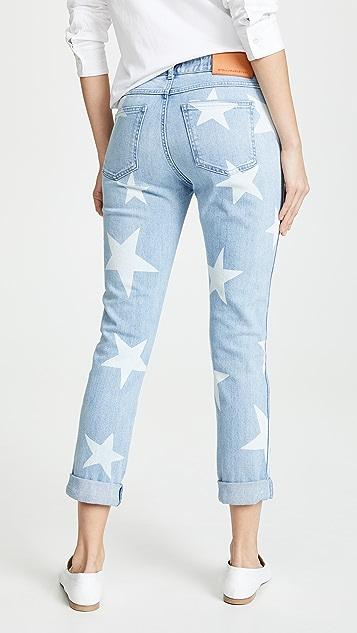 Stella McCartney Skinny Boyfriend Denim Jeans