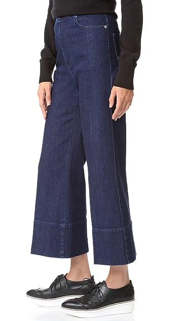 Stella McCartney Cropped Wide Leg Pants