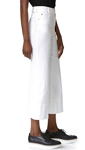 Stella McCartney Cropped Wide Leg Pants