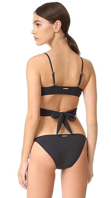 Stella McCartney Timeless Basics Wrap Bikini Top