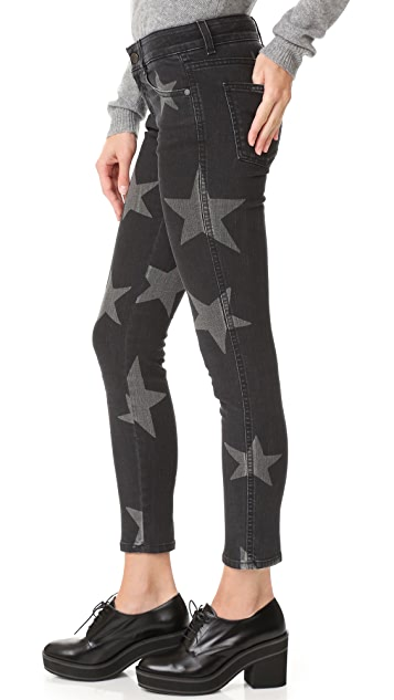 Stella McCartney Vintage Black Star Trousers