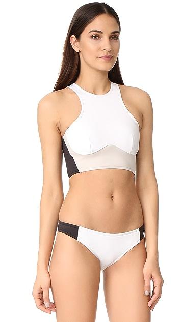 Stella McCartney Miracle Cropped Bikini Top