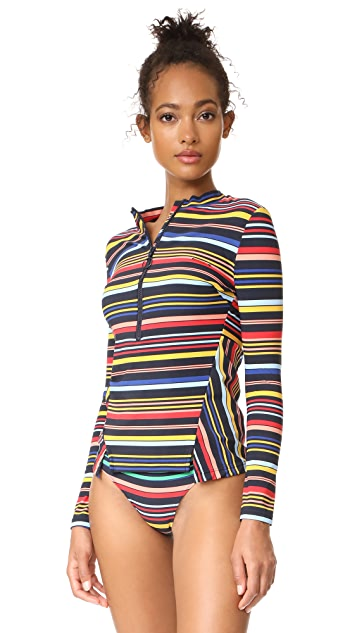 Stella McCartney Stripe Rash Guard