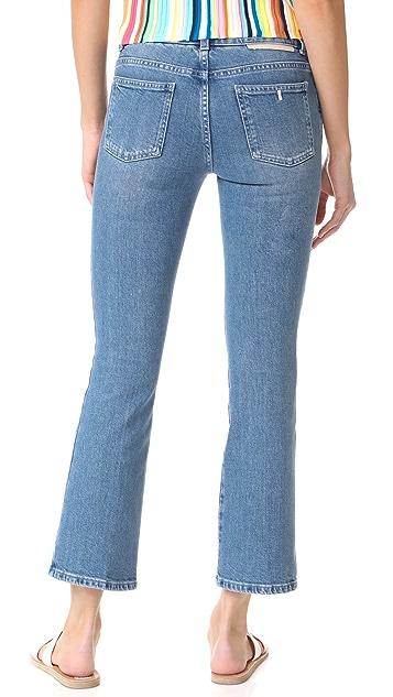 Stella McCartney Skinny Kick Crop Jeans