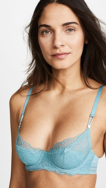 Stella McCartney Poppy Playing Contour Lace Balconette Bra
