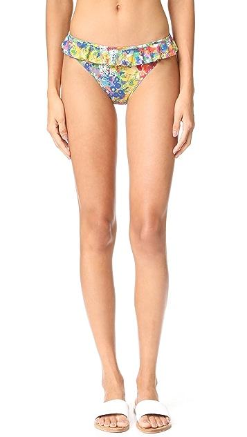 Stella McCartney Iconic Prints Classic Bikini Bottoms