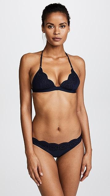Stella McCartney Broderie Anglaise Classic Bikini Bottoms
