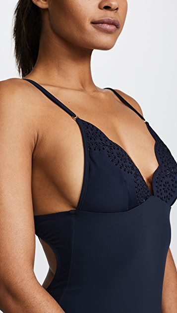 Stella McCartney Eyelet Swimsuit