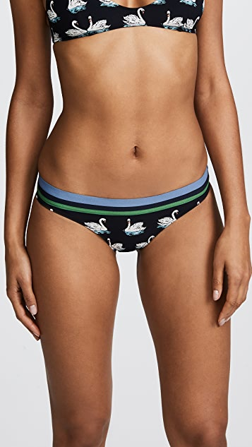 Stella McCartney Iconic Print Classic Bikini Bottoms