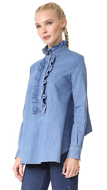 Stella McCartney Ruffle Shirt