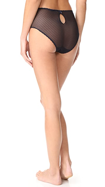 Stella McCartney Elsa Endearing High Cut Briefs