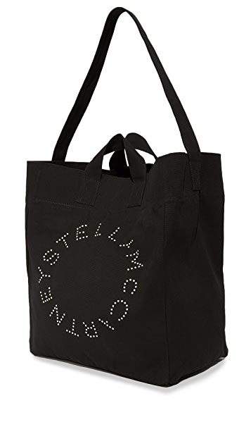 Stella McCartney Circle Logo Beach Bag