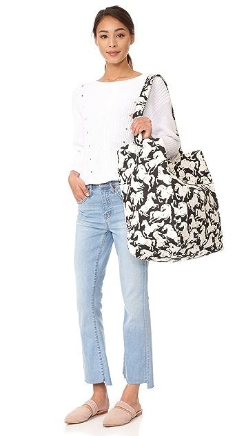 Stella McCartney Horse Print Beach Bag
