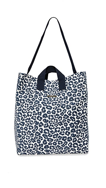 fe3c10f1d655 Stella McCartney Leopard Print Beach Bag ...