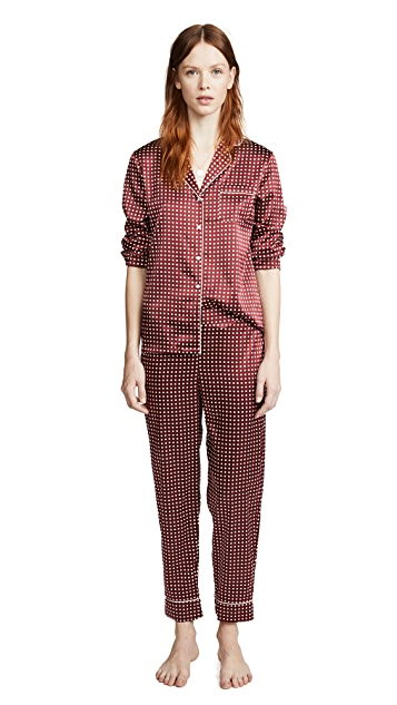 Stella McCartney Poppy Snoozing Long Pajama Set