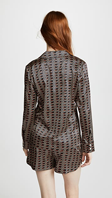 Stella McCartney Poppy Snoozing Long Sleeve Pajama Set
