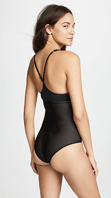 Stella McCartney Stella Soft Mesh Bodysuit