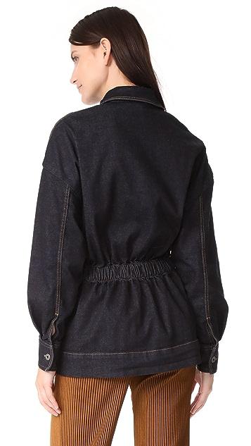 Stella McCartney Anna Denim Stretch Jacket