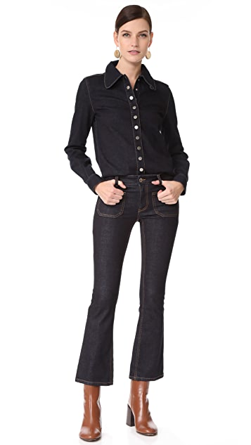 Stella McCartney Stretch Denim Shirt