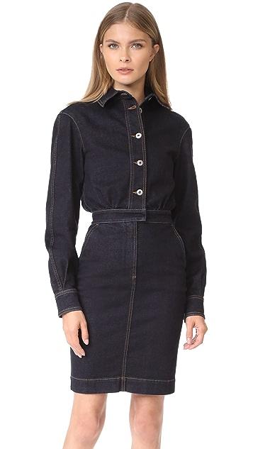 Stella McCartney Annamarie Stretch Denim Dress