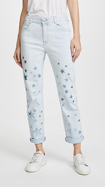 Stella McCartney Boyfriend Jeans - Sun Faded Blue