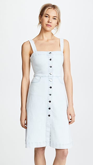 Stella McCartney Linda Denim Dress - Blue Denim