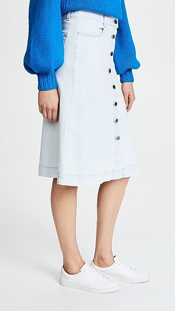 Stella McCartney Sylvia Denim Skirt
