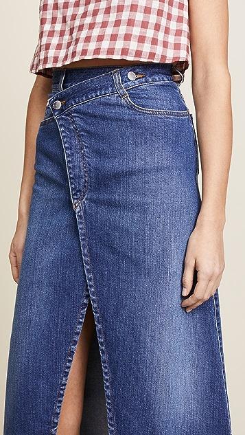 Stella McCartney Split Front Skirt