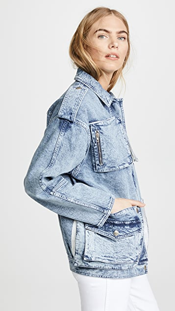 Stella McCartney Denim Cargo Jacket