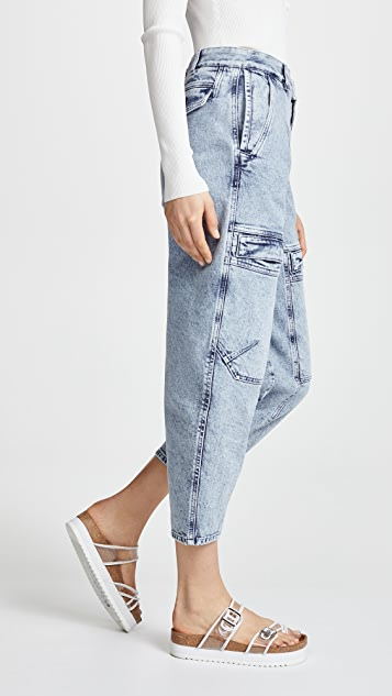 Stella McCartney Denim Cargo Jeans
