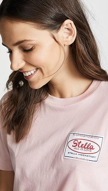 Stella McCartney Stella Badge Patch Tee