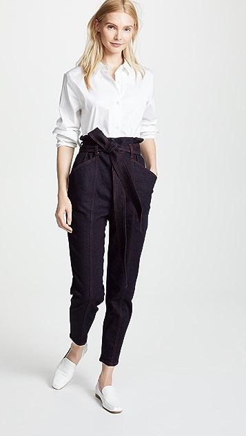 Stella McCartney Tie Waist Jean Trousers