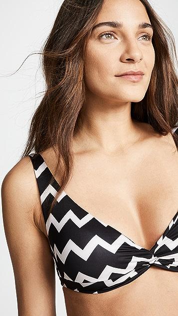 Stella McCartney Triangle Bikini Top