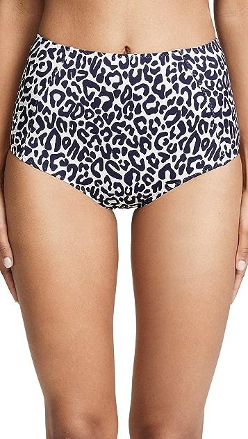 Stella McCartney Timeless High Waist Bikini Bottoms