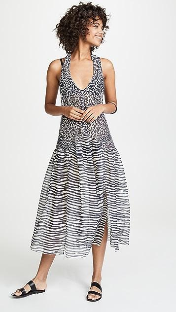 Stella McCartney Классическое пляжное платье