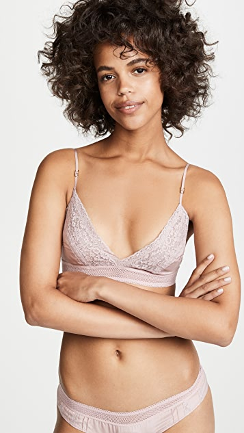 Stella McCartney Rose Romancing Soft Cup Triangle Bra