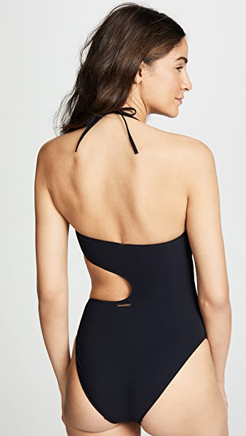 Stella McCartney One Piece Strapless Swimsuit