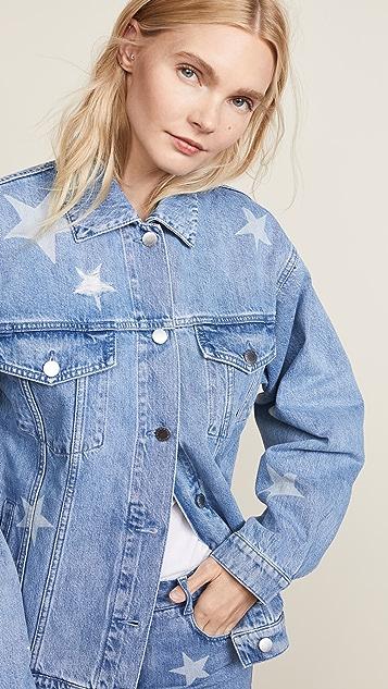 Stella McCartney Denim Stars Jacket