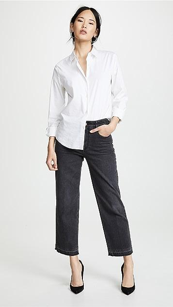 Stella McCartney Cropped Straight Leg Trousers