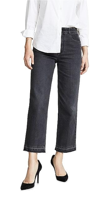 Stella McCartney Укороченные прямые брюки