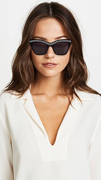 Stella McCartney Fallabella Cat Eye Sunglasses