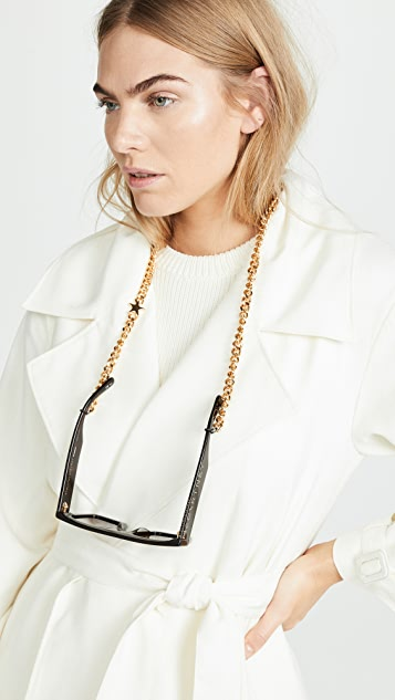 Stella McCartney Moder Flat Top Sunglasses