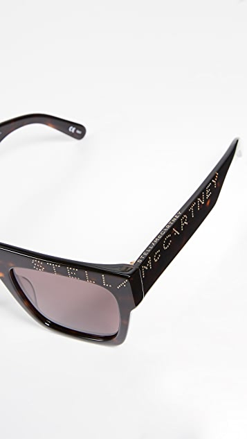 Stella McCartney Moder Flat Top Sunglasses