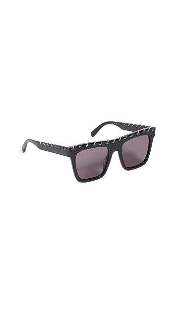 Stella McCartney Fallabella Flat Top Sunglasses