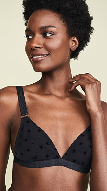 Stella McCartney Betty Twinkling Triangle Bra