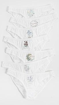 Panties Of The Week Set